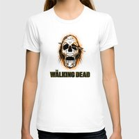 walking dead T-shirts featuring Walking Dead by ezmaya