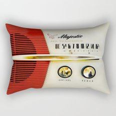 Classic Old Vintage Retro Majestic radio iPhone 4 4s 5 5c 6, ipad, pillow case, tshirt and mugs Rectangular Pillow
