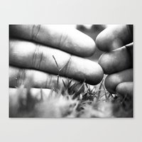 Fingerprints Canvas Print