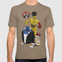 Beastie Droids Mens Fitted Tee Tri-Coffee SMALL