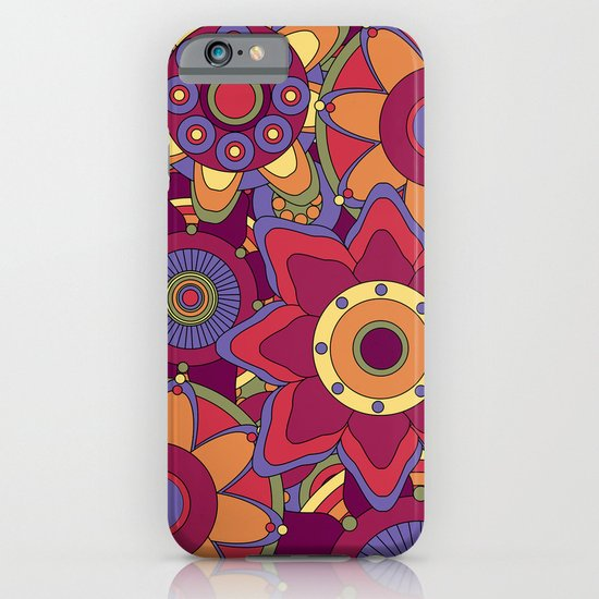 Flower 16 iPhone & iPod Case