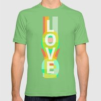 Love Mens Fitted Tee Grass SMALL