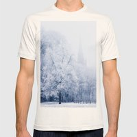 Inspired Trees Mens Fitted Tee Natural SMALL