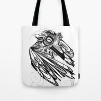 Raven's Escape Tote Bag