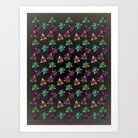 Skinny Aversion Art Print