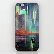 Transistor By Night iPhone & iPod Skin