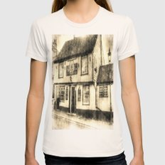 The Coopers Arms Pub Rochester Vintage Womens Fitted Tee Natural SMALL