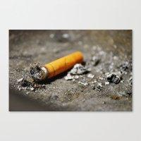 Nicotine - II Canvas Print