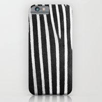 iPhone & iPod Case featuring Zebra Stripes & Back by Eye Shutter to Think