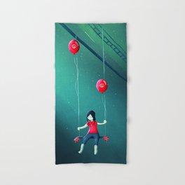 Hand & Bath Towel - I had a Dream - Schwebewesen • Romina Lutz