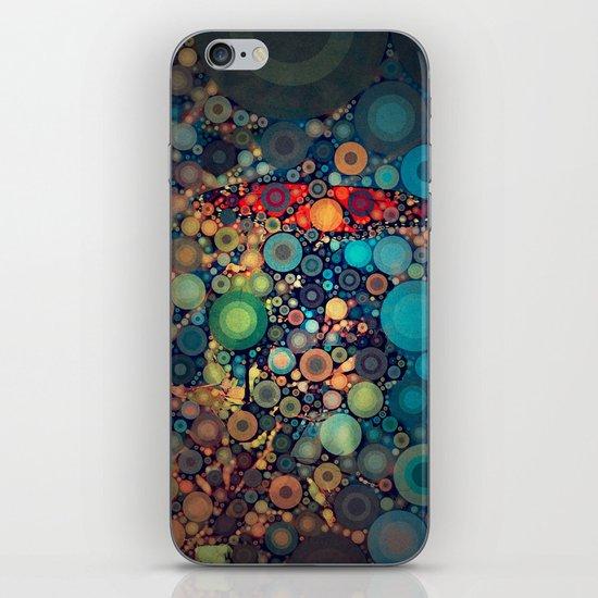 Butterfly love iPhone & iPod Skin
