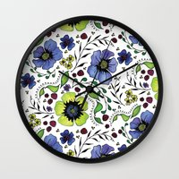 April Truly Wall Clock