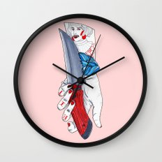 Well Shit Wall Clock