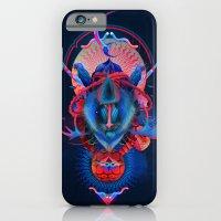 Blue gibbon iPhone 6 Slim Case