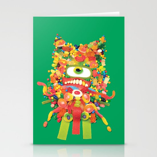 Sweet Monster Stationery Card