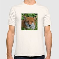 FOXY Mens Fitted Tee Natural SMALL