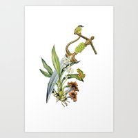 Die By The Sword Art Print