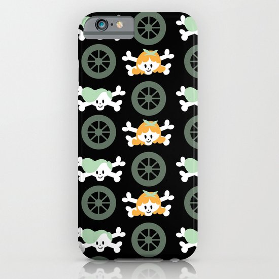 Teen skulls iPhone & iPod Case