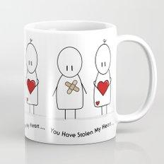 You Have Stolen My Heart Mug