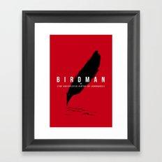 It´s a bird Framed Art Print