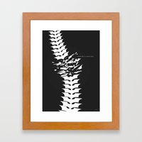Fear will Find you! Framed Art Print