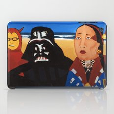 The Devil, Darth vader and Indian Chief iPad Case