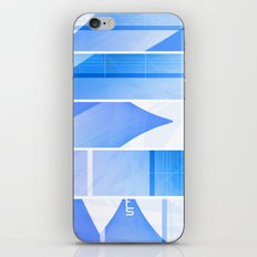 Color Hue (Five Panels Series) iPhone & iPod Skin