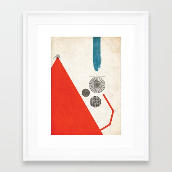 Ratios II. Framed Art Print