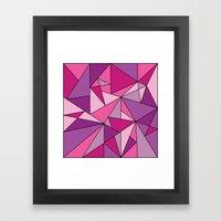 Pinkup Framed Art Print
