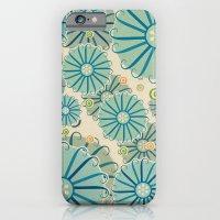 Retro Crazy Flowers iPhone 6 Slim Case