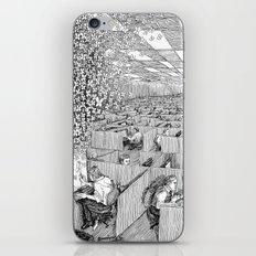 Escaping Monotony iPhone & iPod Skin