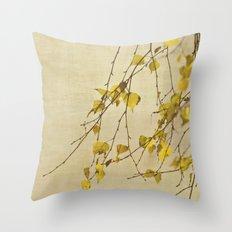 Green tree Throw Pillow