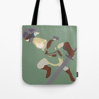 The Legend Of Zelda - Li… Tote Bag