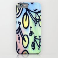 iPhone & iPod Case featuring Bikes by JustinPotts