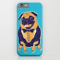 iPhone & iPod Case featuring Henry the Pug by Vaughn Fender