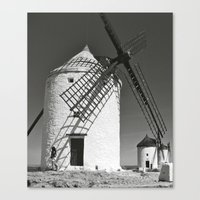 Canvas Print featuring Don Quixote by KeCuddihee