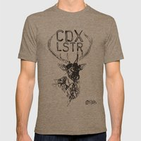 CDX LSTR #04 Mens Fitted Tee Tri-Coffee SMALL