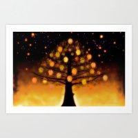 TREE OF KNOWLEDGE - 224 Art Print