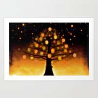 TREE OF KNOWLEDGE - 224 Art Print