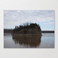 Mysterious Island II Canvas Print