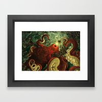 The Indrigan Beast Framed Art Print