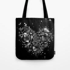 Heart2 Black Tote Bag