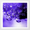 Double Bubble Art Print