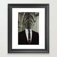 With the Bones of Our Own Framed Art Print