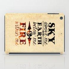Sky Earth Fire iPad Case