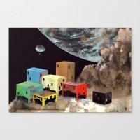 Uzakta Yaşam Canvas Print