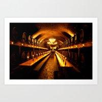 wine-cellar Art Print