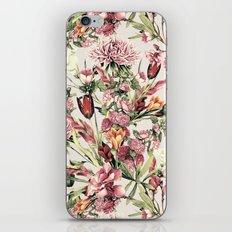 RPE FLORAL XI iPhone & iPod Skin