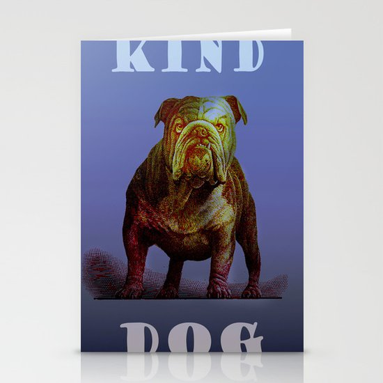 Kind Dog Stationery Card