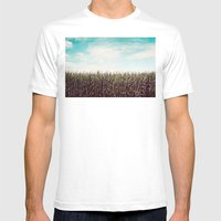 Cornfield Mens Fitted Tee White SMALL